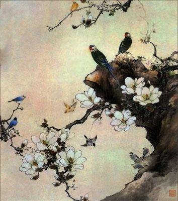 Фотообои на стену восточная живопись