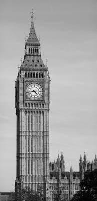 Фотообои черно белые лондон биг бэн