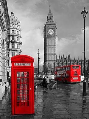 лондон картинки черно белые