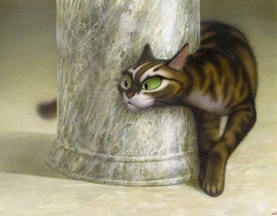 кошки в живописи: