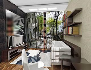 Шкаф-купе как украшение интерьера Расширение пространства Монмартр